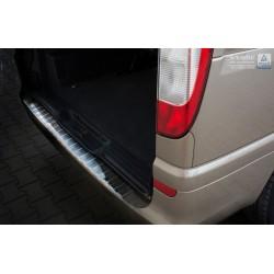 Ochranná nerezová lišta prahu piatych dverí Mercedes  Vito II/Viano W639 2003 - 2014