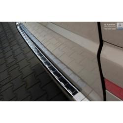 Ochranná nerezová lišta prahu piatych dverí (čierna) Mercedes Vito II/Viano W639 2003 - 2014