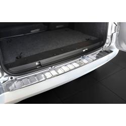 Ochranná nerezová lišta prahu piatych dverí Citroën Nemo 2007 -