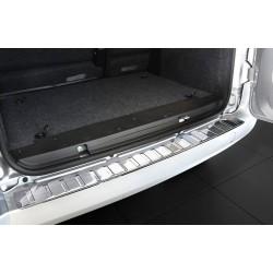 Ochranná nerezová lišta prahu piatych dverí Fiat Qubo 2007 -