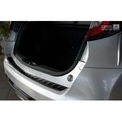 Ochranná nerezová lišta prahu piatych dverí (čierna) Honda Civic IX 2015 -