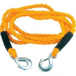 Ťažné lano 1,8t s hákmi - 4m