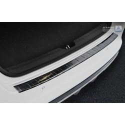 Ochranná nerezová lišta prahu piatych dverí (čierna) Kia Optima Sedan 2015 -