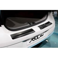 Ochranná nerezová lišta prahu piatych dverí Kia Soul EV 2014 -