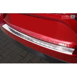 Ochranná nerezová lišta prahu piatych dverí Mazda 3  2013 -