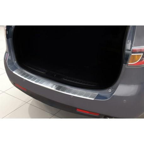 Ochranná nerezová lišta prahu piatych dverí Mazda 6  2008 - 2012