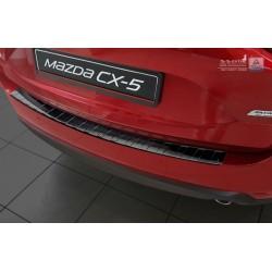 Ochranná nerezová lišta prahu piatych dverí (čierna) Mazda CX-5 II 2017 -