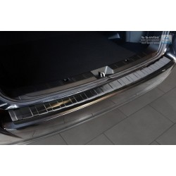 Ochranná nerezová lišta prahu piatych dverí (čierna) Subaru Impreza V (GT) 2017 -