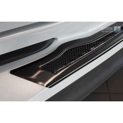 Ochranná nerezová lišta prahu piatych dverí (čierna / čierny carbon) Toyota C-HR 2016 -