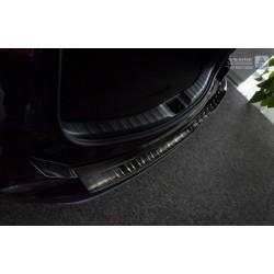 Ochranná nerezová lišta prahu piatych dverí (čierna) Toyota RAV 4 IV 2015 -