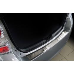 Ochranná nerezová lišta prahu piatych dverí Toyota Verso 2009 - 2013