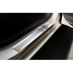 Nerezové kryty prahov Hyundai i10 2007 -