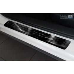 Nerezové kryty prahov čierne Mazda CX-5 2012 - 2017