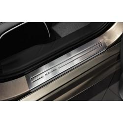Nerezové kryty prahov Mitsubishi ASX 2010 -