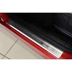 Nerezové kryty prahov Nissan Qashqai  2007 - 2013