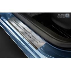 Nerezové kryty prahov Opel Astra J 2009 -