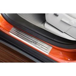 Nerezové kryty prahov Opel Mokka 2012 -