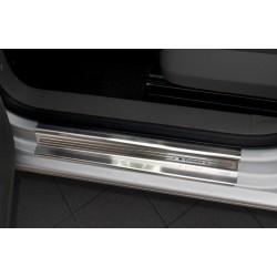 Nerezové kryty prahov Volkswagen Caddy 2003 -
