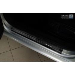 Nerezové kryty prahov (čierne) Volkswagen Passat B6/B7 2005 -