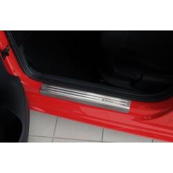 Nerezové kryty prahov Volkswagen Polo V (6R) 2009 - 2016