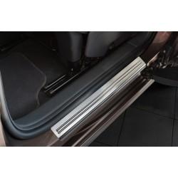 Nerezové kryty prahov Volkswagen Sharan II 2010 -