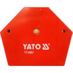 Uholník magnetický na zváranie 111x136x24mm