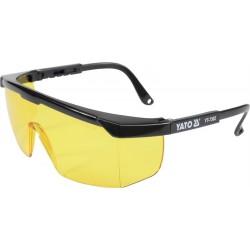 YATO Okuliare ochranné žlté typ 9844