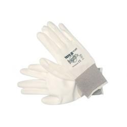 YATO Pracovné rukavice pogumované veľ.10 nylón/PU