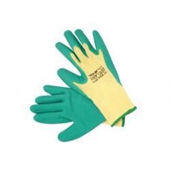YATO Pracovné rukavice pogumované veľ.10 bavlna/latex