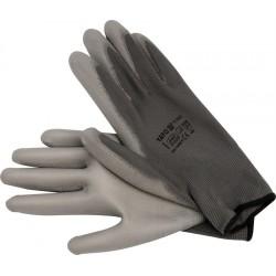 YATO Pracovné rukavice pogumované veľ.10 nylón /PU