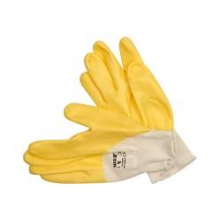 YATO Pracovné rukavice pogumované veľ.10 PE/nitrylit