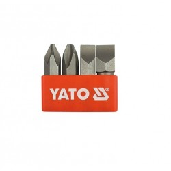 "YATO Sada bitov 5/16"" 4 ks PH2, PH3"