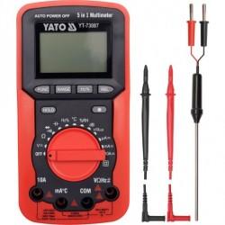 YATO Multimeter digitálny 5v1, 162 x 83 x 47 mm