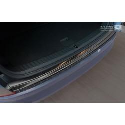 Ochranná nerezová lišta prahu piatych dverí (čiarna) Škoda Kodiaq 2016 -
