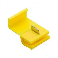 Rýchlospojka samorezná - 2,5-6 žltá
