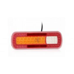 Zadné združené LED svetlo - dynamická smerovka