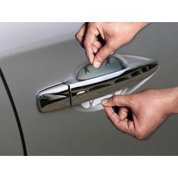 Ochranná transparentná fólia pod kľučky dverí 10 x 8,5 cm (4ks)