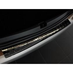Ochranná nerezová lišta prahu piatych dverí (čierna) Dacia Duster II 2017 -