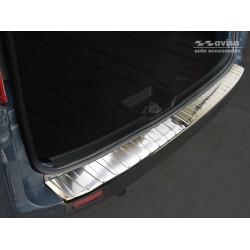 Ochranná nerezová lišta prahu piatych dverí Ford Tourneo Custom 2012 -