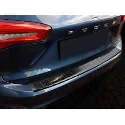 Ochranná nerezová lišta prahu piatych dverí (čierna) Ford Focus IV Turnier 2018 -