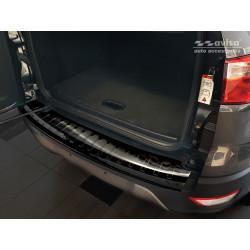 Ochranná nerezová lišta prahu piatych dverí (čierna) Ford EcoSport II 2017 -