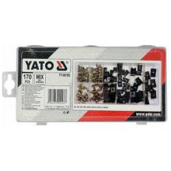 YATO Skrutky a karosárske podložky sada 170ks