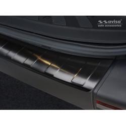 Ochranná nerezová lišta prahu piatych dverí (čierna) Mercedes Sprinter 2018 -