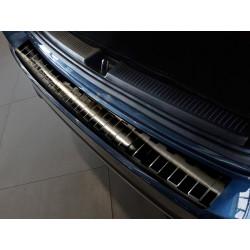 Ochranná nerezová lišta prahu piatych dverí (čierna) Mercedes B-Class W247 2018 -
