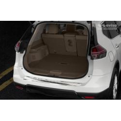 Ochranná nerezová lišta prahu piatych dverí Nissan Rouge II 2013 -