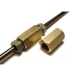 Spojka pre brzdové trubky, 2x závit M10x1.25