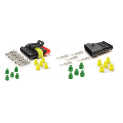 5 pinový konektor sada (samec + samica)