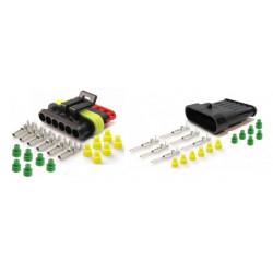6 pinový konektor sada (samec + samica)