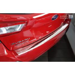 Ochranná nerezová lišta prahu piatych dverí Subaru XV II 2017 -