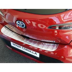 Ochranná nerezová lišta prahu piatych dverí Toyota Corolla XII HB 2018 -
